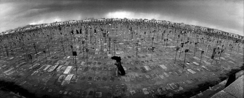 Iran cemetery by Reza