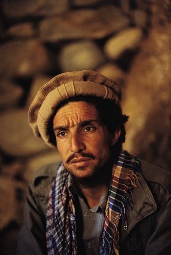 Massoud portrait by Reza