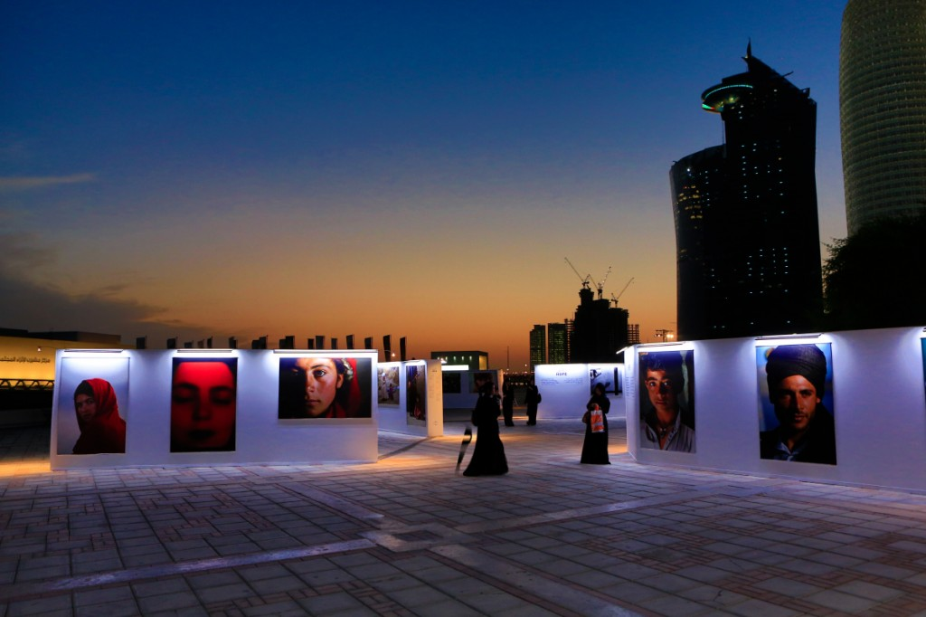 HOPE : Exhibition & Education by REZA in Doha