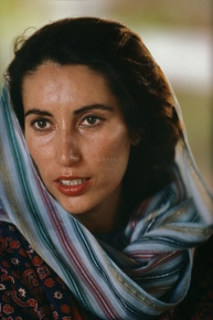 Benazir Bhutto running for premiership of Pakistan in 1986