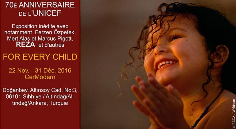 70ème anniversaire de l'UNICEF